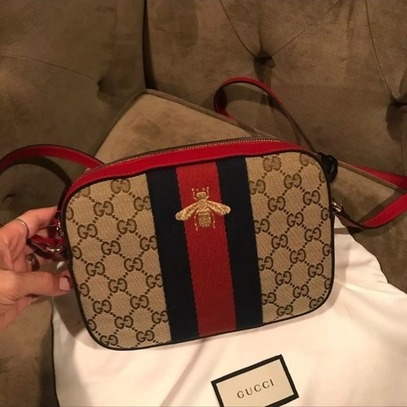 Gucci Bee Crossbody Bag NWT